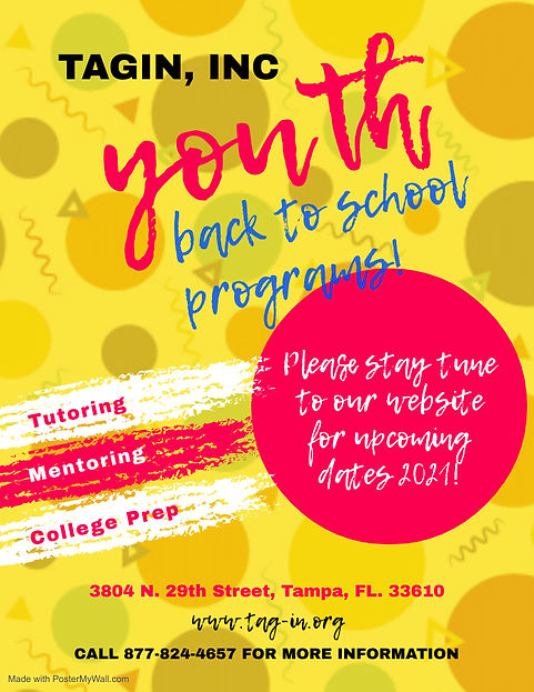 Copy of Youth Service Church Event Flyer