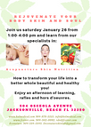 Rejuvenate Your Body, Skin, and Soul. January Transformation Event