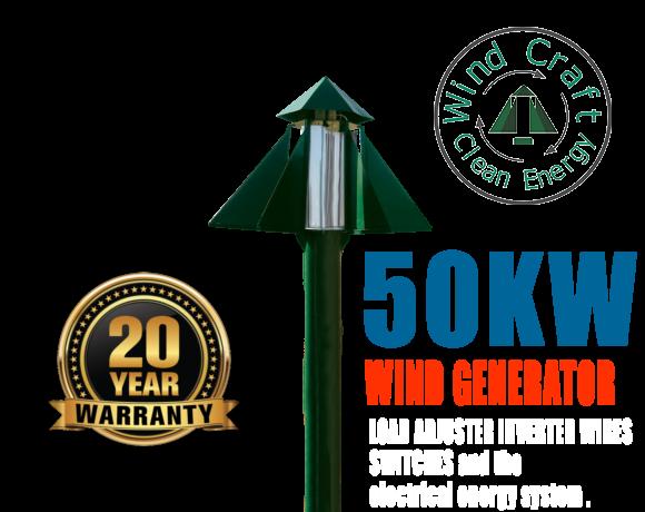 Wind Turbine 50 kW