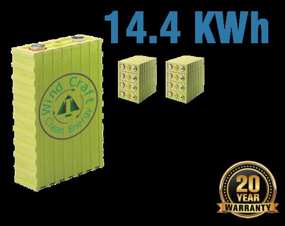 Lithium Iron Battery 14.4 KWh