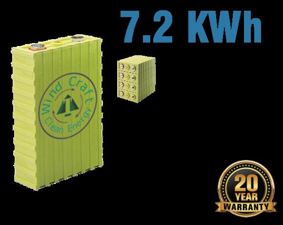 Lithium Iron Battery 7.4 KWh
