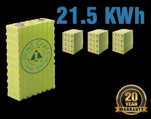 Lithium Iron Battery 21.5 KWh