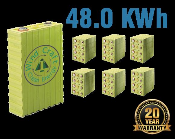 Lithium Iron Battery 48.0 KWh