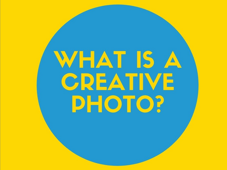 What is a Creative product photo?