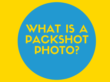What is a Pack shot?
