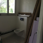 Rollstuhlgängiges WC