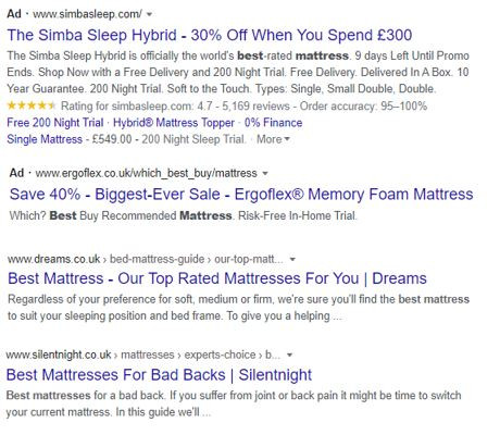 best page titles and website descriptions