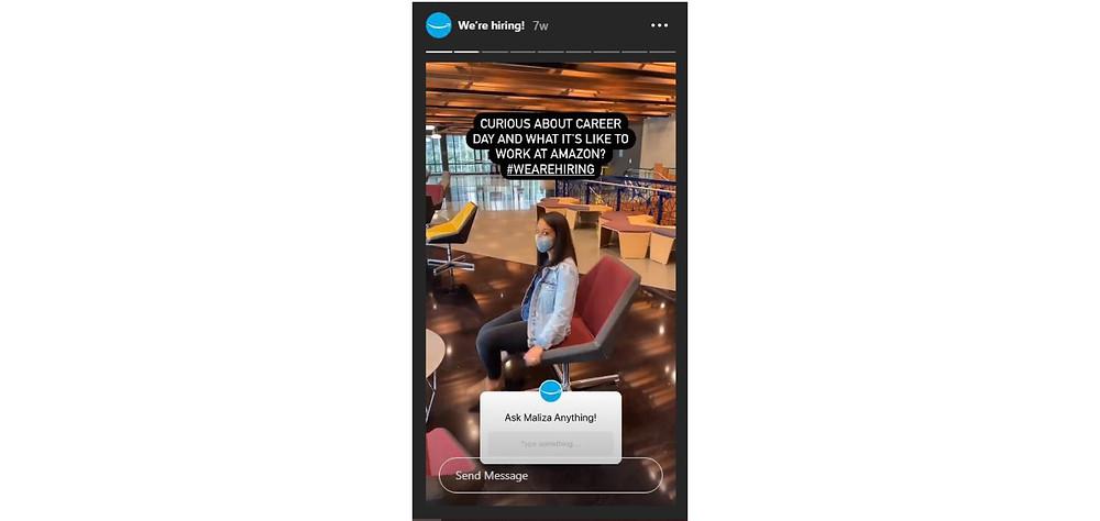 Amazon Instagram Story