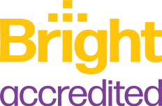 BrightAccredited(Stacked)_Logo-Yellow_Pu