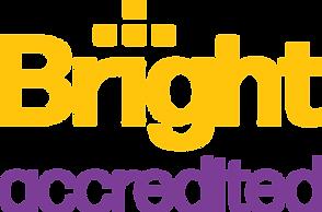 BrightAccredited(Stacked)_Logo-Yellow_Pu