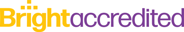 BrightAccredited_Logo-Yellow+Purple TRAN