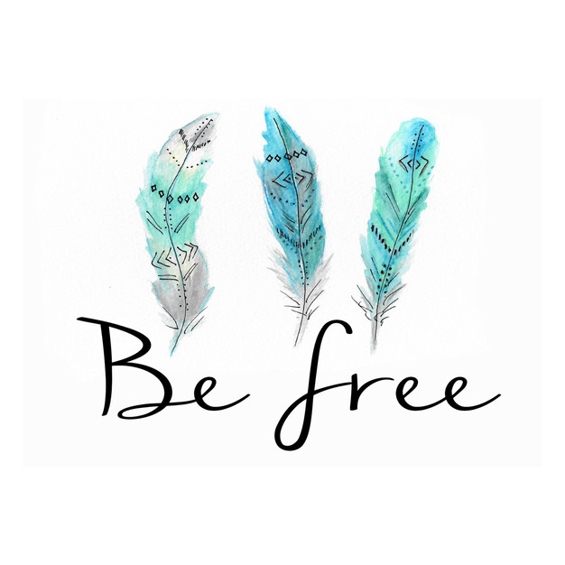 Be Free with Feathers