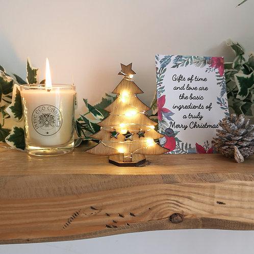 Oak Christmas Tree Wooden Photography Prop