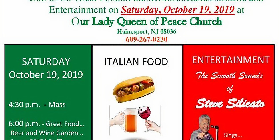 Italian Festival - Our Lady Queen of Peace - Hainesport, NJ