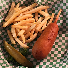 Corn Dog & Fries