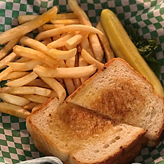 Grilled Cheese & Fries