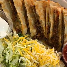 Quesadillas (Chicken, Beef or Bacon)