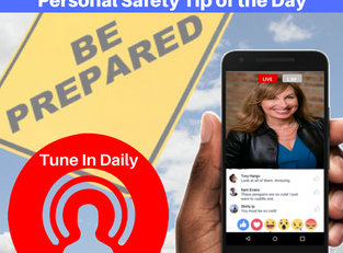 Personal Safety Tip 10 | FaceBook Live Video
