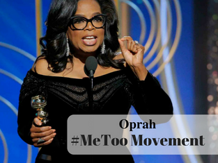 Oprah and The #MeToo Movement
