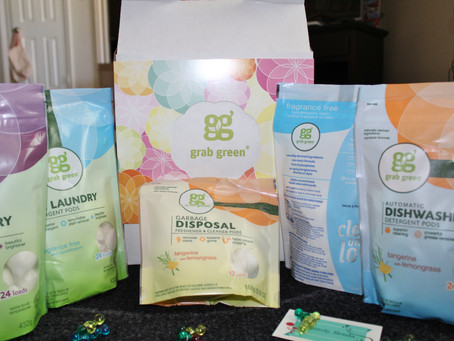 Taking The Toxins Out of My Home With Grab Green!!