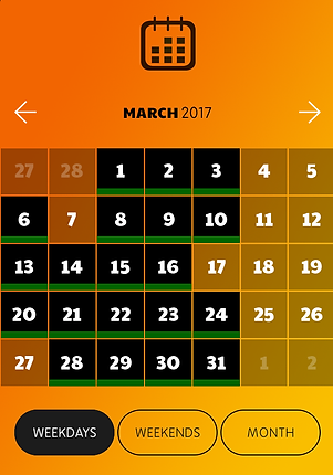Werkabee availability calendar