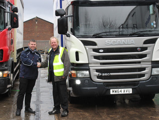 Used trucks are No.1 for Service Warehousing