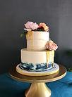wedding-cake-blue-watercolour-semi-nakie