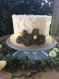 wedding-cake-rustic- succulents-dreamin-