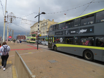 Well Done BTS and Blackpool Bus Supporters