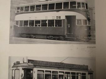 1933 - A Very Good Year for Trams  :  Fiducia   Middleton Bogies   Rail Coach