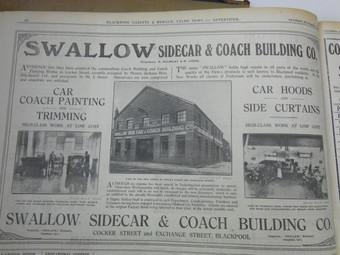 Swallow Sidecar- Born in Blackpool