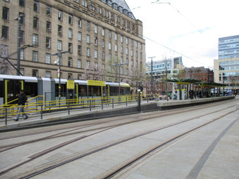 Manchester's classy tram stops (and more)