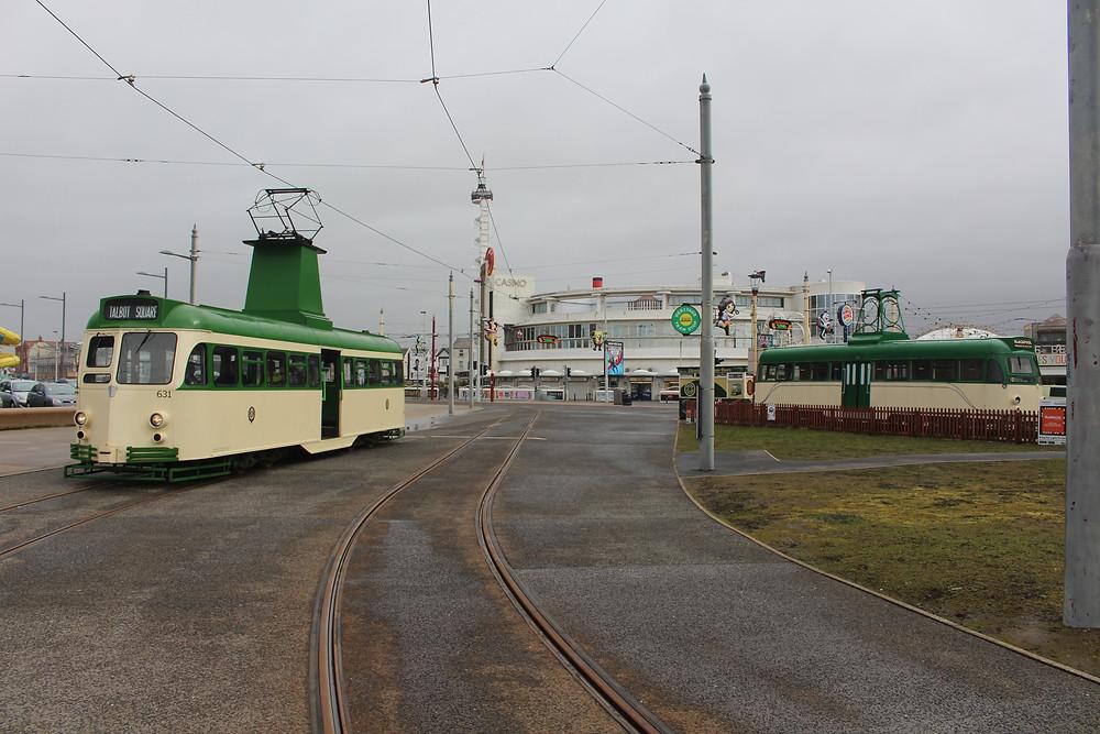 Brush Cars on Blackpool Promenade.JPG