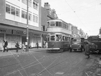 A Great DVD on Blackpool Trams in their heyday  -   go get it......