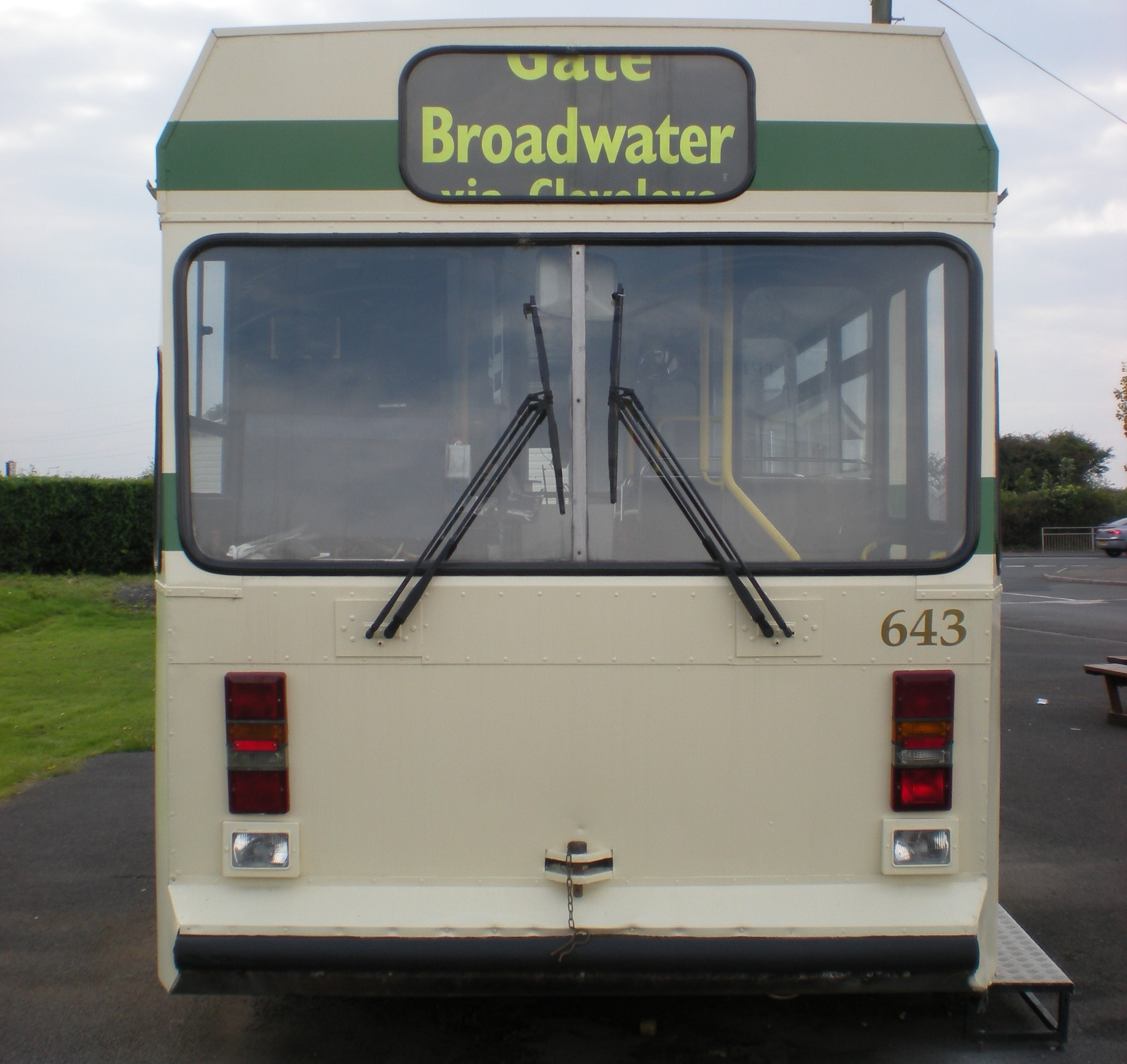 643 INSTALLED AT THE BROADWATER PARK