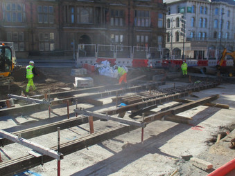 Talbot Square Gets Its Tracks Back