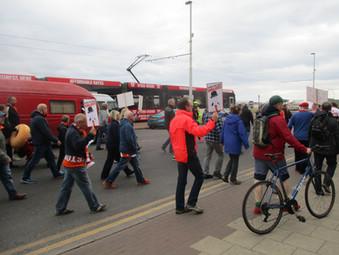 Blackpool FC v Leyton Orient - a sad day for both teams