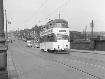 1961  - Farewell Lytham Road Trams