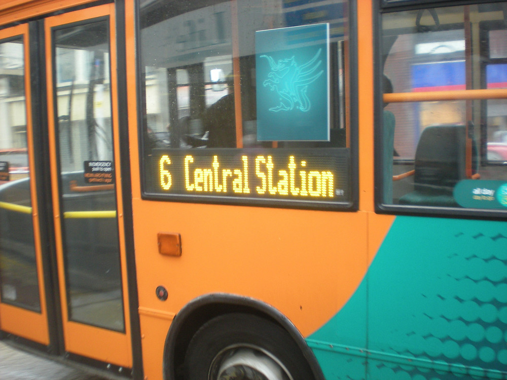 Former Cardiff buses on the 6 Service of Catch22 Buses - just to confuse you.