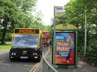 Blackpool's Bus Scene  -  Five Years Ago