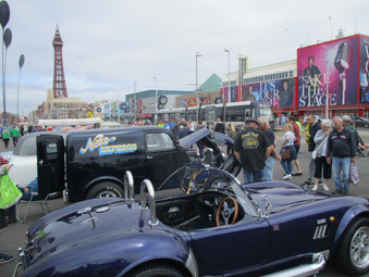 A Great Car Show on the Prom