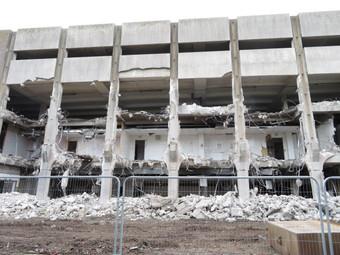Concrete Jungle - Removal Begins