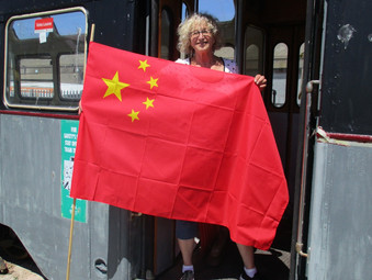 Peoples Republic of China                                            arriving at Fleetwood.........