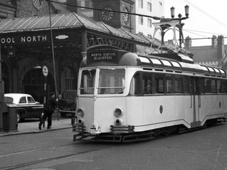 TRAMS TO NORTH STATION AND VICTORIA HOSPITAL