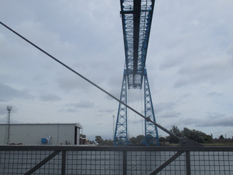 Overhead Cables Across the Tees