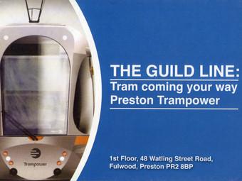 Preston Tram Nears Its Goal