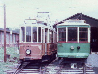 Going Back in Time - on a tram