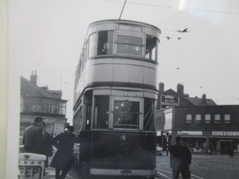 Personal 'snaps' with Marton trams