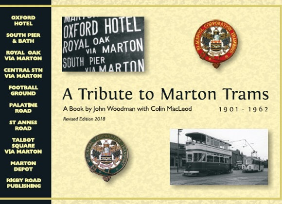 A TRIBUTE TO MARTON TRAMS: 2018 Edition