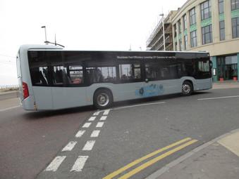 BTS Trials A New Bus  - BF68 ZHB